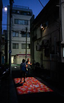 志村信裕《Red carpet》2010