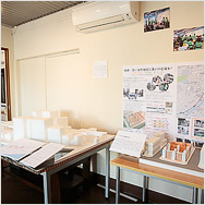 まちづくりプラン展示  Town Planning in the Koganecho Area